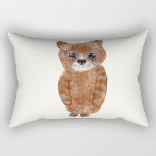 little ginger Rectangular Pillow