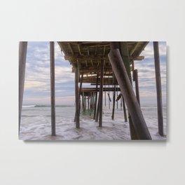 Under Frisco Pier Metal Print