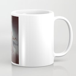 Red - Naked woman shackled with heavy cuffs Coffee Mug