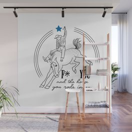 And the horse Wall Mural