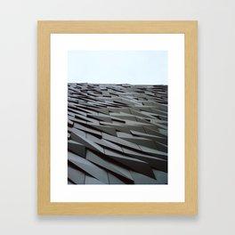Titanic Building i Framed Art Print