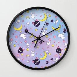 Chibiusa's Pattern Wall Clock