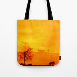 In those first few hours after the dawn Tote Bag