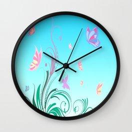 Sweet Sunny Day Wall Clock