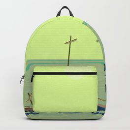 Static Waiting for May - shoes stories Backpack