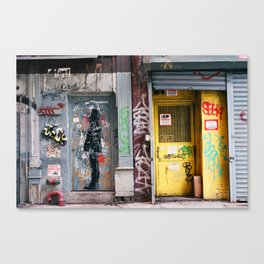 Graffiti in Chinatown Canvas Print