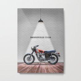The 1969 T120 Bonneville Metal Print