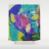 "dragonball z Shower Curtains featuring Astract ""z"" by Sylwia Borkowska"