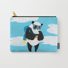 Jetpack Panda Carry-All Pouch