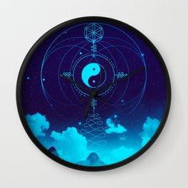 Sacred Geometry (Balance) Wall Clock
