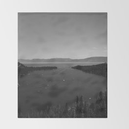 Lake Tahoe IV Throw Blanket