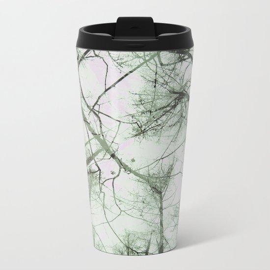 STRANGE TREES Metal Travel Mug