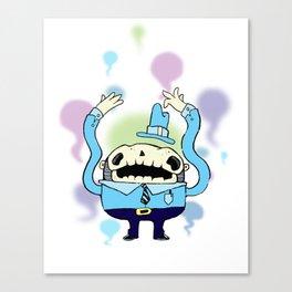 Spooky Man Canvas Print