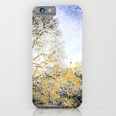 Greenwich Park London Snow Art Slim Case iPhone 6s
