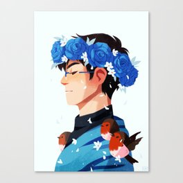 Bloom: Yuri Canvas Print