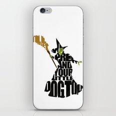 The Wicked Witch Of The West iPhone & iPod Skin