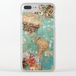 World Game Clear iPhone Case