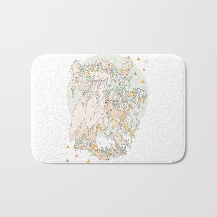 adorned pop Bath Mat