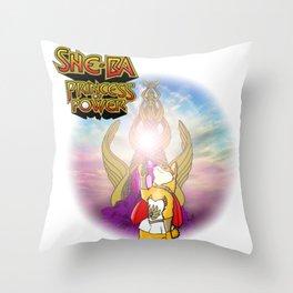 She-Ba Throw Pillow