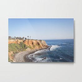 Point Vicente Lighthouse (color version) Metal Print