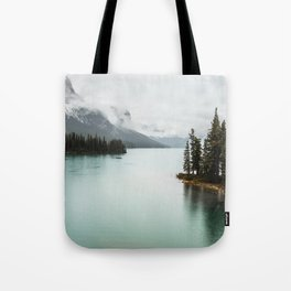 Landscape Photography Maligne Lake Tote Bag