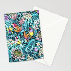 Stand out! (fresh aqua) Stationery Cards