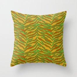 Tiger Print - Safari Throw Pillow