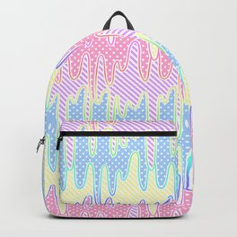 Melty Patterned Slime Backpack