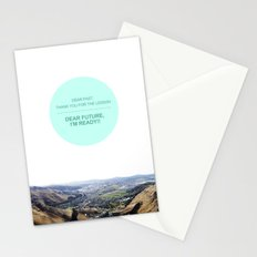Dear Past, Dear Future Stationery Cards
