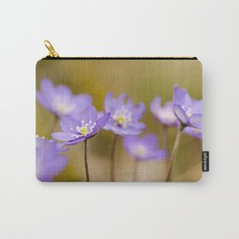 Anemone hepatica II Carry-All Pouch