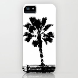 Black & White Palm iPhone Case