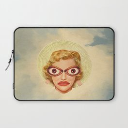 Not in the mood / collage / moon water Laptop Sleeve