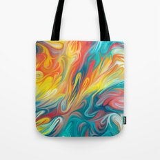 Abstract Colors II Tote Bag