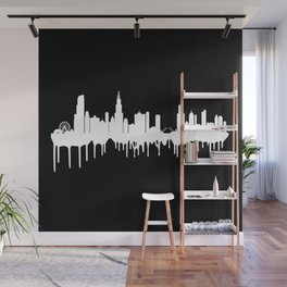 Chicago is Melting. Wall Mural