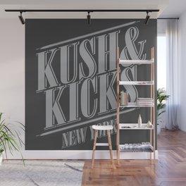 Kush & Kicks New York Wall Mural