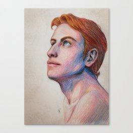 Rand al'Thor sketch Canvas Print