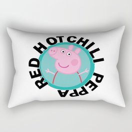 Red hot Chili Peppa Rectangular Pillow