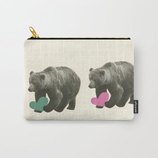 A Bear Romance Carry-All Pouch
