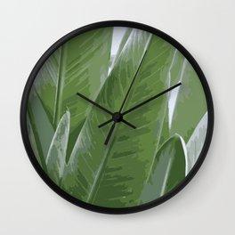 Bird of Paradise   Nature   Plant   Artprint   Digitalart Wall Clock