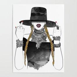 Creole Queen Bey Poster