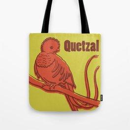 Animal Alphabet - Quetzal Tote Bag
