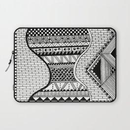 Wavy Geometric Patterns Laptop Sleeve