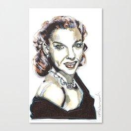 JUDY GARLAND Canvas Print