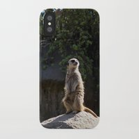 model iPhone & iPod Cases featuring Model by Nicole Dupee