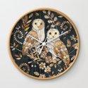 Wooden Wonderland Barn Owl Collage by micklyn