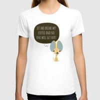 chihuahua T-shirts featuring Chihuahua by Fabio Rex