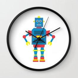 a humanoid Wall Clock