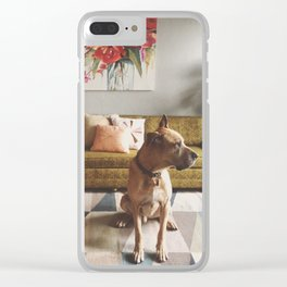 Sup Dog Clear iPhone Case