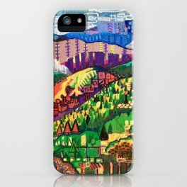 Fog in the Mountains iPhone Case
