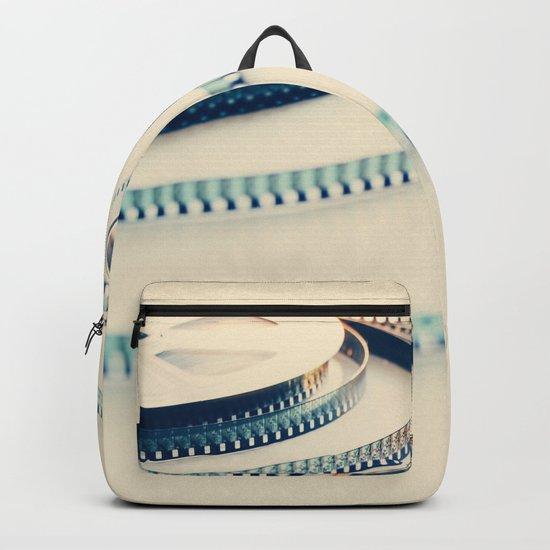 super 8 film III Backpack